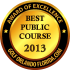 Best Orlando Public Golf Course