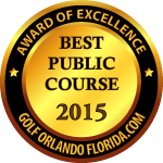 Best Public Orlando Golf Course