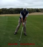 Golf Lesson - How to Hit a Downhill Shot